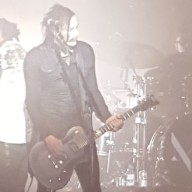 Marilyn Manson Glasgow 2015 guitar