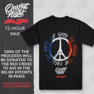 Our Last Night charity shirt