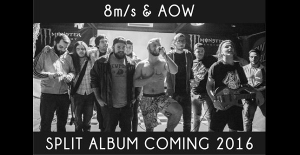 As Orchids Wither / 8m/s to release split album
