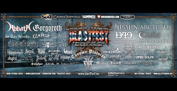Blastfest finalise line-up and announce day schedule