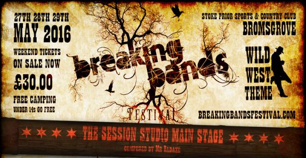 Breaking Bands Festival – latest HUGE update