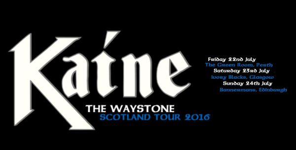Kaine announce Scotland dates