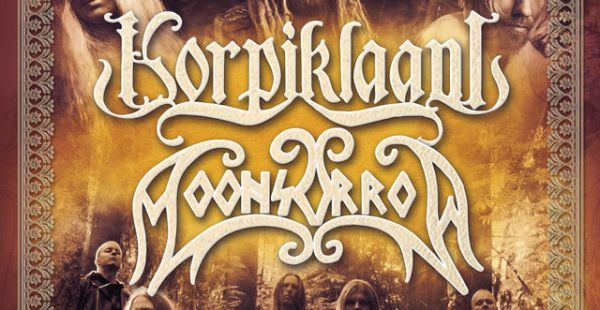 Korpiklaani / Moonsorrow announce co-headline dates