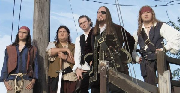 Band of the Day: Skull Branded Pirates