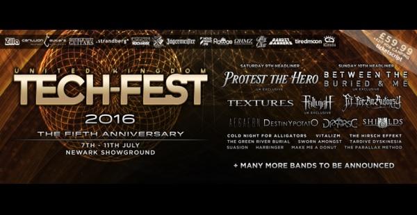 Tech-Fest 2016 – more bands announced