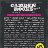 Camden Rock 2016 First Announcement