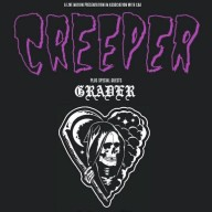 Creeper Grader 2016 tour poster