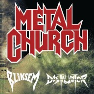 Metal Church Bliksem Distilator London 2016