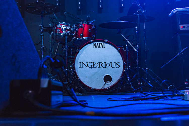Review: Inglorious / Ali Clinton / The King Lot – G2 The Garage Glasgow, 27th February 2016
