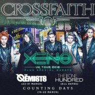 Crossfaith Counting Days The One Hundred 2016