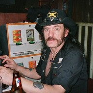 Lemmy at computer