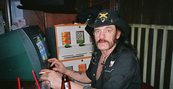 Lemmy Getting Slot Machine Tribute