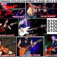 Pat McManus stolen