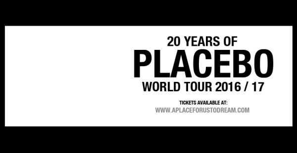 Placebo announce 20th anniversary tour