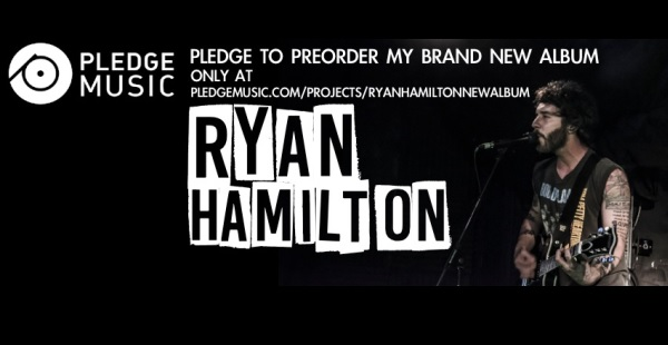 Ryan Hamilton launches Pledge campaign for new album