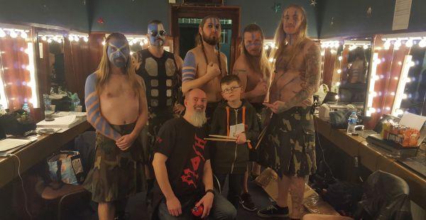 Sabaton / Alestorm / Bloodbound – Glasgow Barrowlands, 3rd March 2016