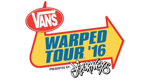Vans Warped Tour 2016 announces sponsors and attractions
