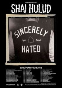 Shai hulud Tour poster