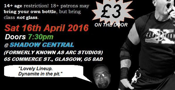 This Weekend: Irish Hardcore in Glasgow