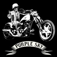 Line of Fire - Purple Sky