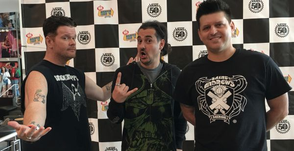 Vans Warped Tour 2016 – launch party (inc. interviews with Less Than Jake and Wage War)