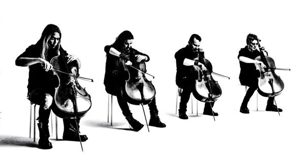 WIN Apocalyptica tickets and signed CDs