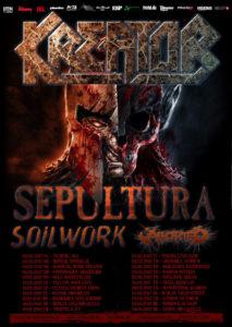 Kreator 2017 tour