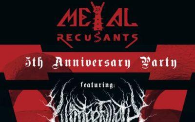 Metal Recusants 2016 Winterfylleth header