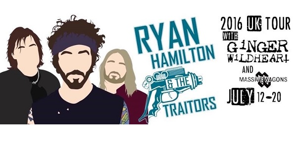 Ryan Hamilton joins the Ginger tour bus