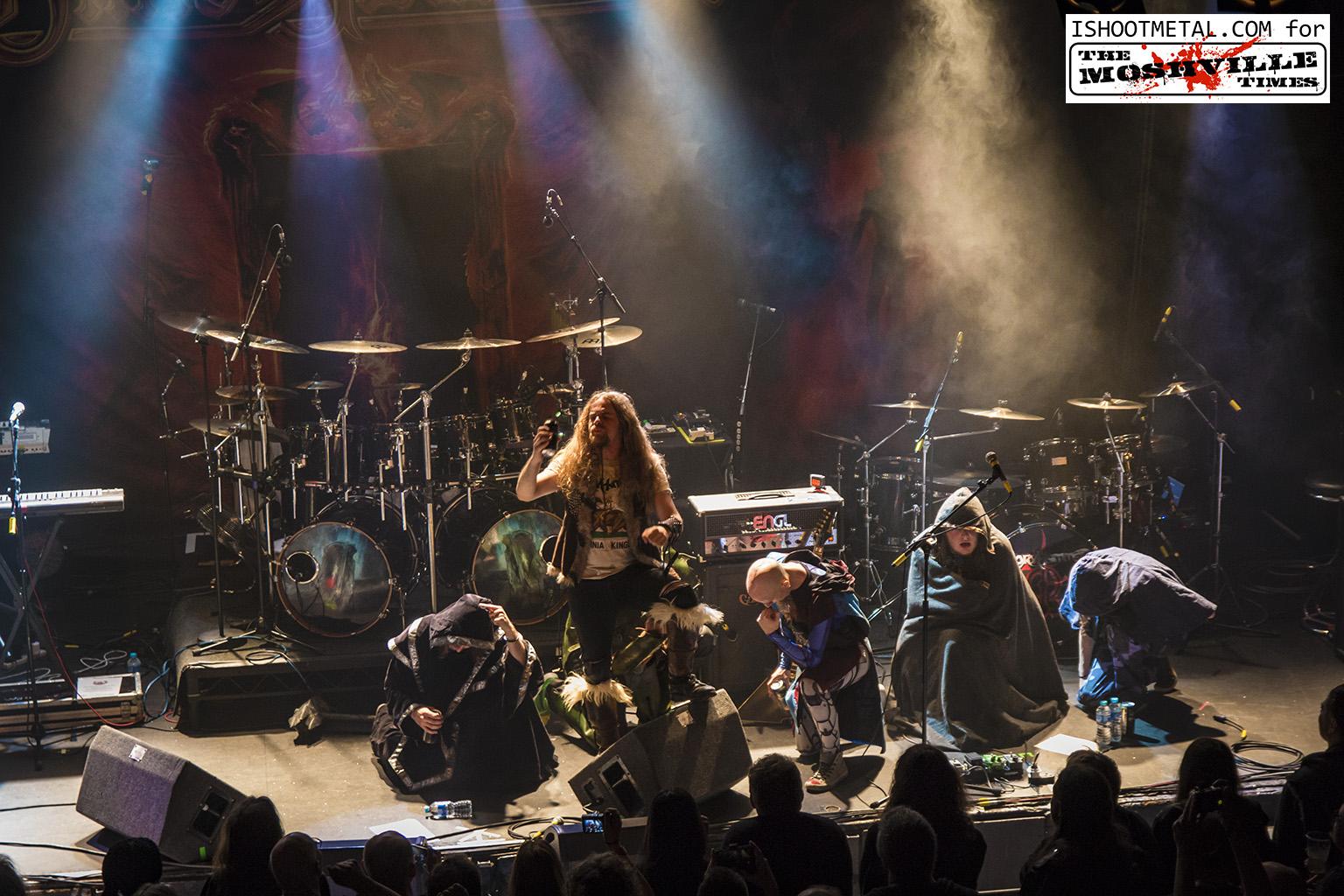 Review: Blind Guardian / Gloryhammer 17/05/2016 -QMU Glasgow