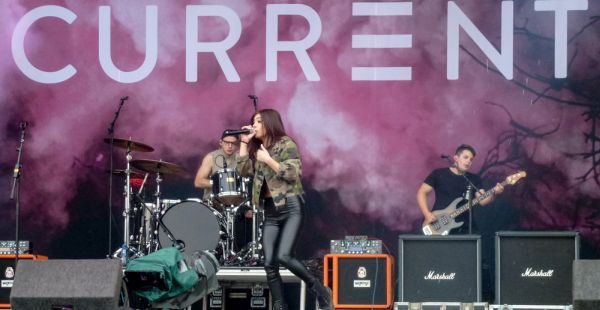 Against The Current – Download Festival 2016