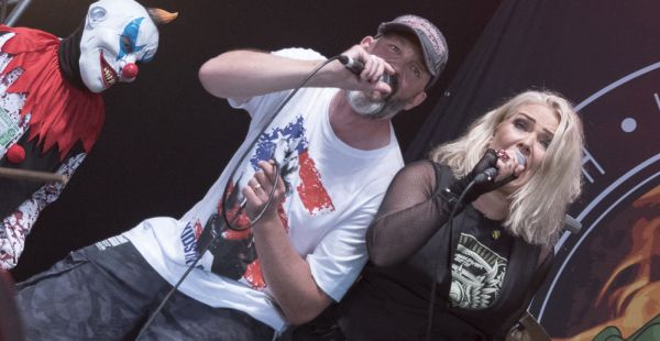Lawnmower Deth (and Kim Wilde!) at Download Festival 2016