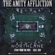 The Amity Affliction 2016 tour poster