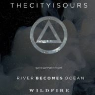Thecityisours River Becomes Ocean 2016 tour poster