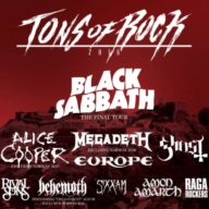 Tons of Rock 2016 poster