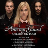 Ann my Guard 2016 tour