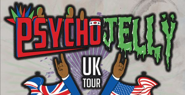 Local support announced for Psycho Jellÿ Glasgow date