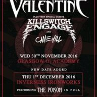 BFMV Bullet for my Valentine Killswitch Engage Scotland 2016