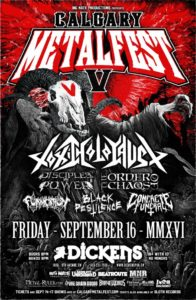 Calgary MetalFest V Friday