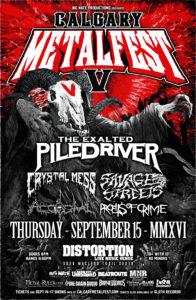Calgary MetalFest V Thursday