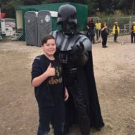 In_VIP_With_Darth_Vader_Zach Bloodstock 2016