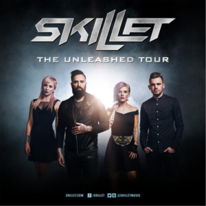 Skillet 2016 tour