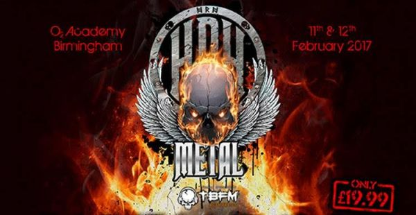 HRH Metal announce headliner for Feb 2017 knees-up