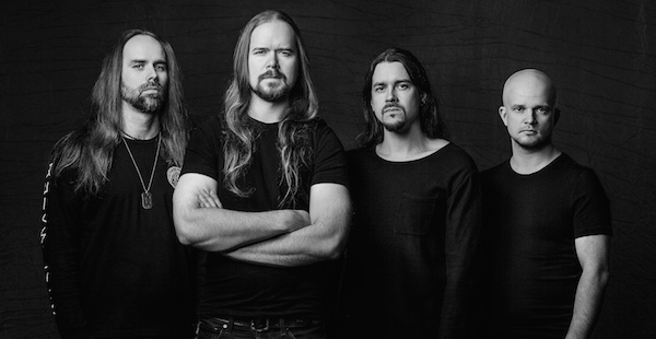 Interview: Markus Hirvonen of Insomnium (London, 2017)