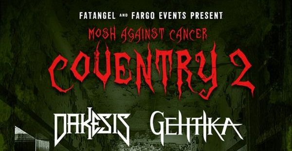 Mosh Against Cancer Coventry 2017 makes 15-band announcement