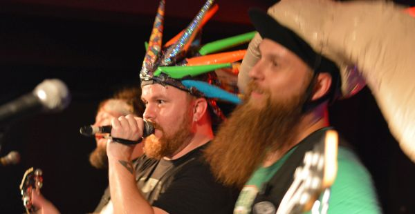Psychostick / Footprints in the Custard / Monkey Puzzle / Mantis Toboggan – Glasgow Classic Grand, 22nd Sept 2016