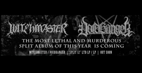 Review: Witchmaster/Voidhanger – Razing the Shrines of Optimism (split)