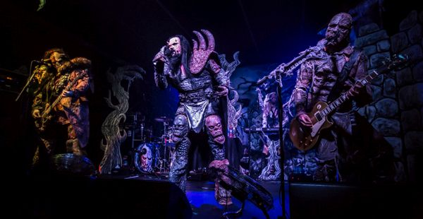 Lordi / Shiraz Lane / Silver Dust – La Belle Angele, Edinburgh (14 Nov 2016)