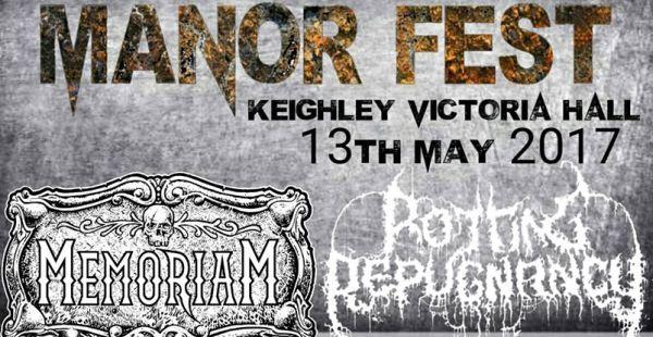 Manor Fest announce headliner
