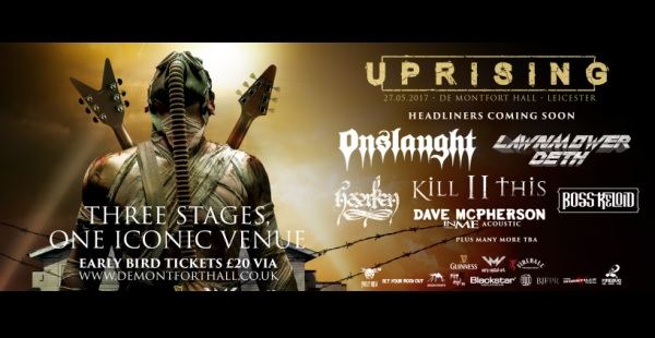 Uprising 2017 announce first bunch of bands